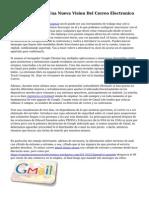 Gmail De Google, Una Nueva Vision Del Correo Electronico