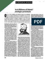 Eco Sulla Biblioteca Di Babele.