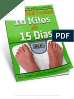 Aprende a Perder 10 Kilos en 15 d¡As