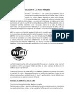 Evolución de Las Redes Wireless