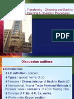 Islami Bank Bangladesh Export LC Presentation
