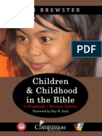 Children and Childhood in the Bible