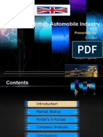 British Automobile Industry