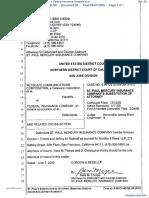 Netscape Communications Corporation et al v. Federal Insurance Company et al - Document No. 38