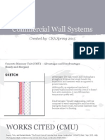 commercial wall systems - spring 2015 - google slides