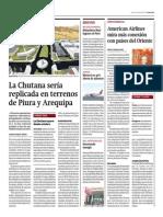 09-04-15- Gestion - Centro Industrial La Chutana Sería Repilcada en Terrenos de Piura y Arequipa