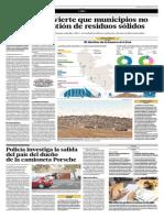 08-04-2015- El Comercio - El MINAM Advierte Que Municipios No Priorizan Gestión de Residuos Sólidos