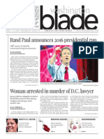 Washingtonblade.com, Volume 46, Issue 15, April 10, 2015