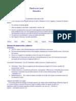Planificacion de Matematicas Anual