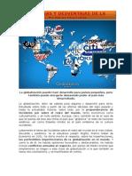 La Globalización Puede Traer Desarrollo Para Países Pequeños