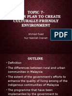 Action Plan culturally friendly environment