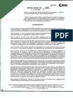 Resolucion 985 de 2014