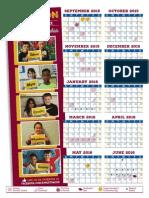 Kingston School District Calendar 2015-16