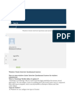 Windowsclustering IQA