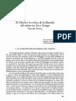 21861_El Dasein y La Critica de La Filosofia Del Sujeto