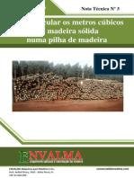 Medição de Madeira