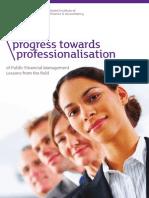 Progress Towards Professionalisation1