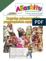 Revista Infantil Añaskitu 87