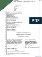 National Federation of the Blind et al v. Target Corporation - Document No. 29