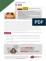 2015 World Watch List Colombia
