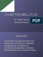 1 Diabetes- Diabetes Mellitus en El Adulto Mayor