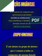 Grupo Funcionais Orgânica