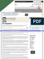 """9-04-2015""""Ya Empezó"""" Columna por Freddy Heredia"""