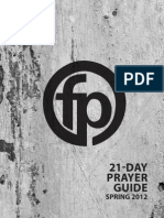 21 Day Prayer Guide 2012