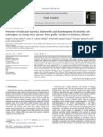 Detección de Salmonella y E. Coli en Germinados