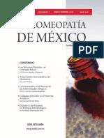 La Homeopatía de México, no. 676 (enero-febrero de 2012)