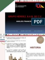 Presentación Analisis Financiero Grupo Herdez