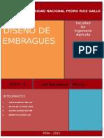 Diseño de Embragues