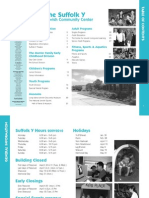 Suffolk Y JCC Winter Program Guide 2010