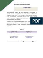 Modelo Documento In04 Termo de Recebimento Provisorio