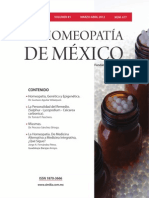 La Homeopatía de México, no. 677 (marzo-abril de 2012)