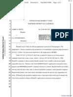 Petty v. U.S. Government - Document No. 5