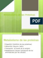 Metabolismo de las Proteinas 1.ppt
