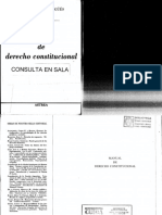 Manual de Derecho Constitucional - Nestor Pedro Sagüés - Primera Sección(1)