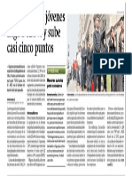 Desempleo en jóvenes llega a 12.9% y sube casi cinco puntos - Miguel Jaramillo - Gestión - 090415