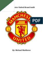 manchester united brand audit