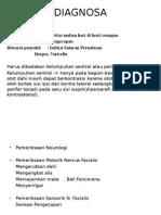 Diagnosa Bell Palsy