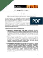 ActualidadLegal-Reglamento Federal de Seguridad y Salud en El Trabajo