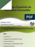 Estrategia Española de Movilidad Sostenible