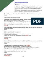 Pravila de Rugaciune a Sfantului Pahomie Cel Mare