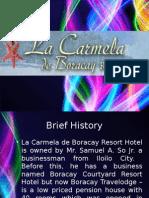 La Carmela de Boracay