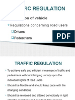 Traffic Regulations