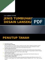 JENIS TUMBUHAN DESAIN LANSEKAP.pptx
