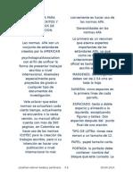 Normas Apa Para Trabajos Escritos y Documentos de Investigacion