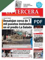 Diario La Tercera 09.04.2015