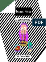 (Judaism) a Guide to Shabbat Celebration - Hebrew English - Torah Jewish Israel